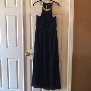 Gently used maxi! Navy blue. Lily Rose.